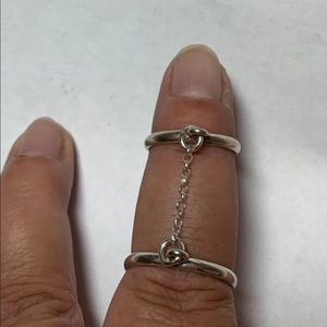 Jewelry - Sterling silver double ring